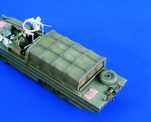 Verlinden Productions DUKW Canvas Cover (for Italeri) - Scale 1/35 - Verlinden Productions - VLP-1910
