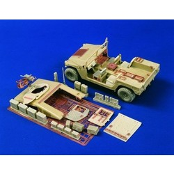 Hummer Weapons Carrier Detail Set(Tamiya/Academy) - Scale 1/35 - Verlinden Productions - VLP-1976