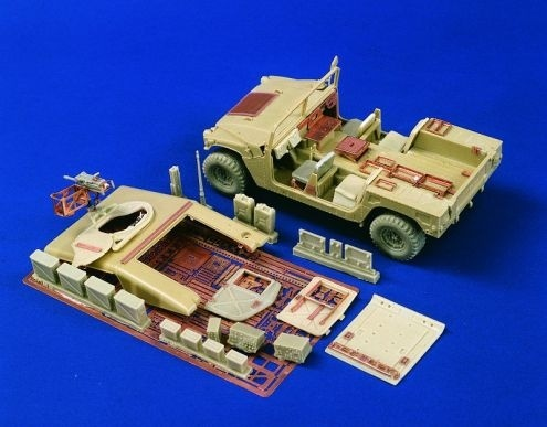 Verlinden Productions Hummer Weapons Carrier Detail Set(Tamiya/Academy) - Scale 1/35 - Verlinden Productions - VLP-1976