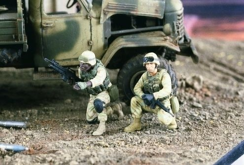 Verlinden Productions US Infantry Iraq - Scale 1/35 - Verlinden Productions - VLP-2183