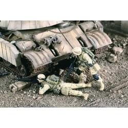 US Machine Gun Team Iraq - Scale 1/35 - Verlinden Productions - VLP-2193