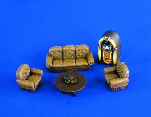 Verlinden Productions Furniture Serie Salon - Scale 1/35 - Verlinden Productions - VLP-2201