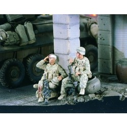 Wounded Marines Iraq - Scale 1/35 - Verlinden Productions - VLP-2342