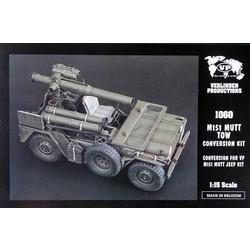 M151 Mutt Tow Conversion Set (voor Verlinden kit) - Scale 1/15 - Verlinden Productions - VLP-1060