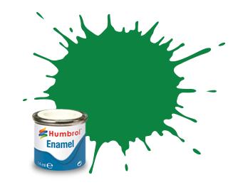 Humbrol Emerald Gloss - 14ml - Humbrol - Hul-E002
