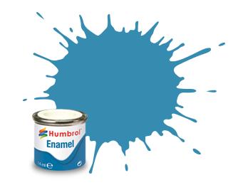 Humbrol Mediterranean Blue Gloss - 14ml - Humbrol - Hul-E048