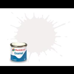 White Matt - 14ml - Humbrol - Hul-E034
