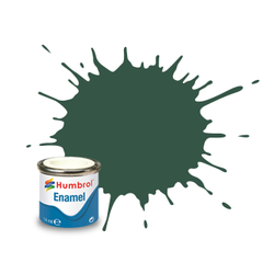 Us Dark Green Matt - 14ml - Humbrol - Hul-E116
