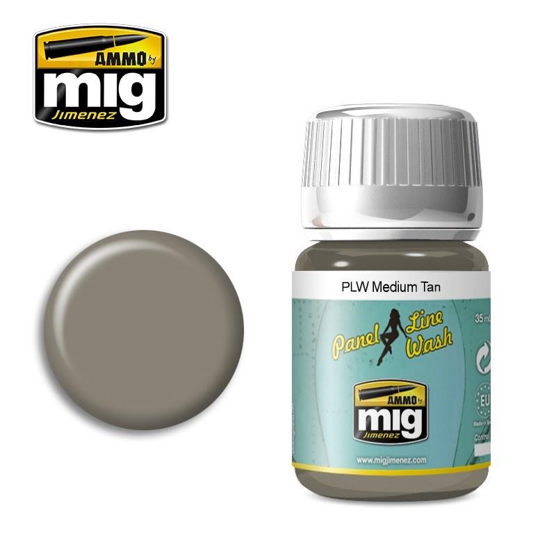 Ammo by Mig Jimenez PLW Medium Tan - A.Mig-1606 - A.MIG-1606
