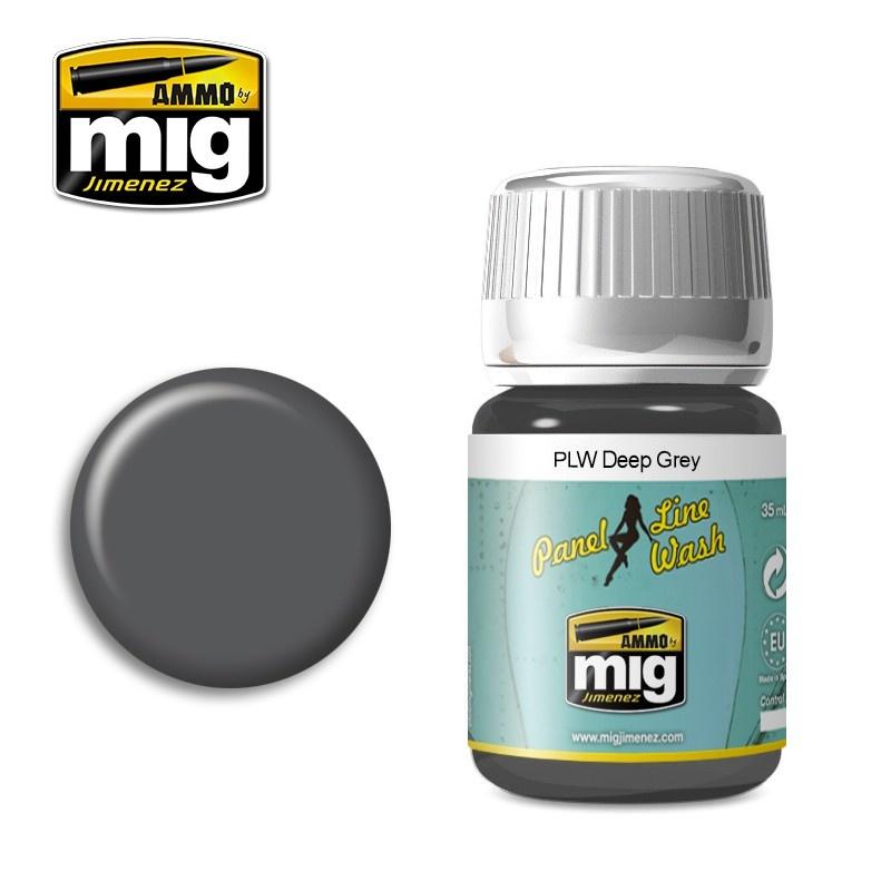 Ammo by Mig Jimenez PLW Deep Grey  - A.Mig-1602 - A.MIG-1602
