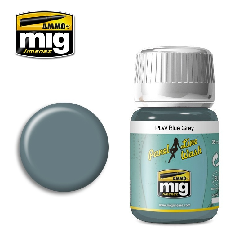 Ammo by Mig Jimenez PLW Blue Grey - A.Mig-1613 - A.MIG-1613