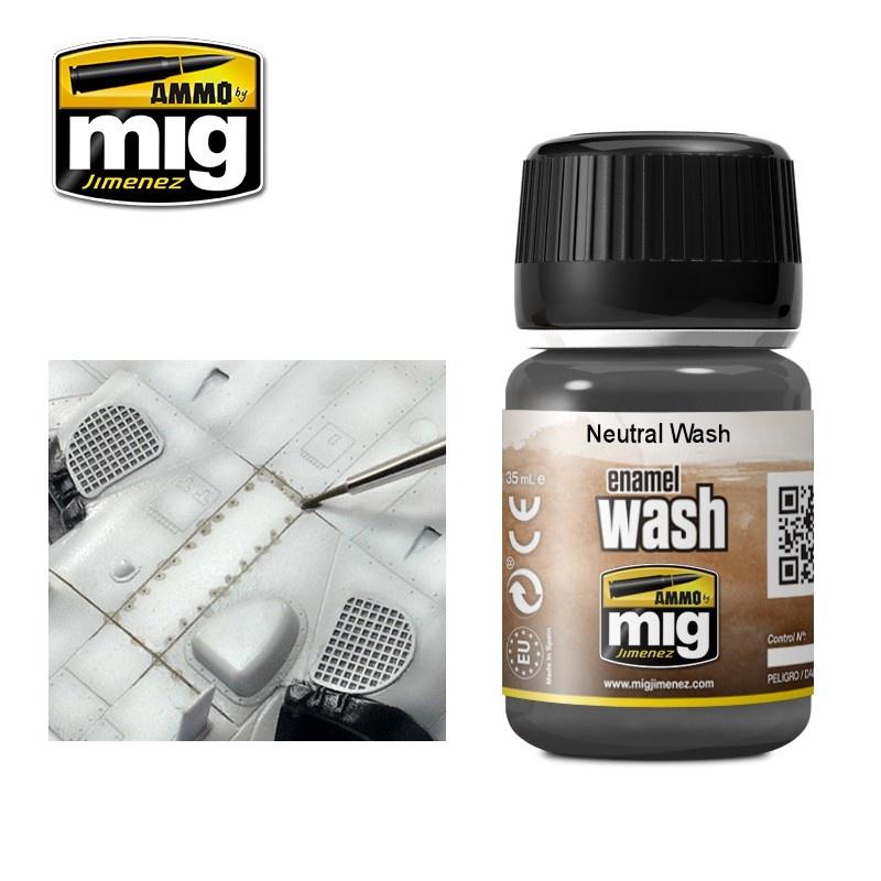 Ammo by Mig Jimenez Neutral Wash- A.MIG-1010