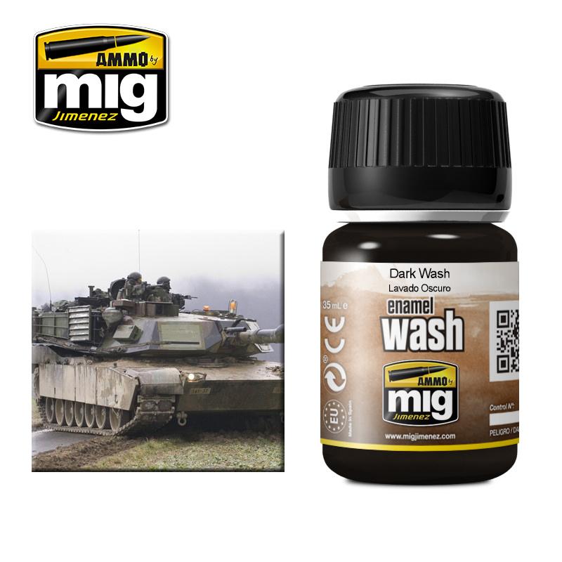Ammo by Mig Jimenez Dark Wash - A.MIG-1008