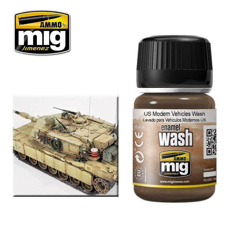 Ammo by Mig Jimenez US Modern Vehicles Wash - A.MIG-1007