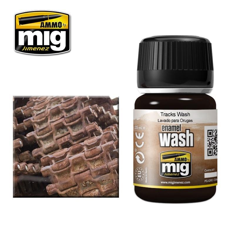 Ammo by Mig Jimenez Tracks Wash - A.MIG-1002