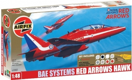 Airfix Red Arrow Hawk Gift Collection - Scale 1/48 - Airfix - AIX A50031A