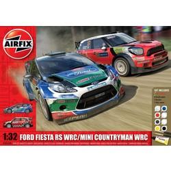 Mini Countryman Wrc/Ford Fiesta Wrc  - Scale 1/32 - Airfix - AIX A50154
