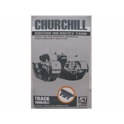 Churchill Workable Track  - Scale 1/35 - AFV-Club - AFV35156