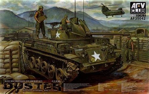 AFV-Club M42A1 Self Propelled Anti-Aircraft Gun  - Scale 1/35 - AFV-Club - AFVAF35042
