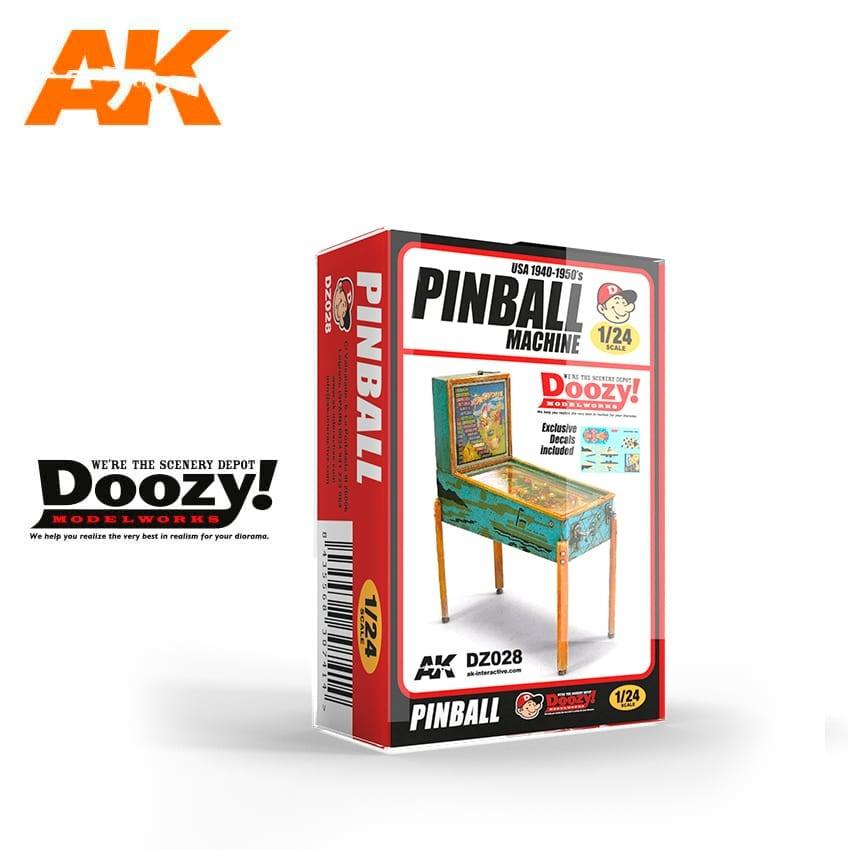 Doozy USA 1940-1950's PINBALL MACHINE - Scale 1/24 - Doozy - DZ028