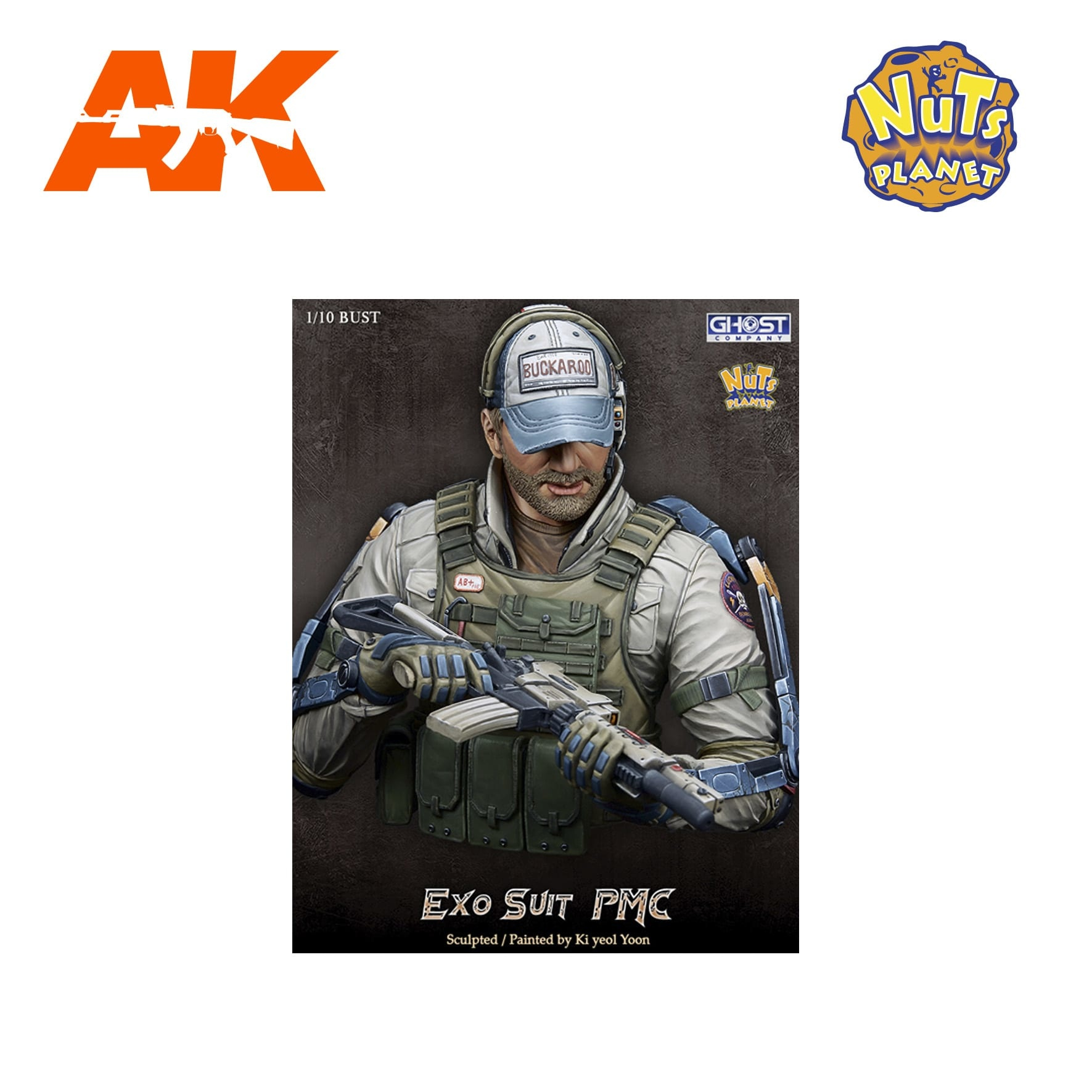 Nuts Planet Exo Suit Pmc -Scale 1/10 - Nuts Planet - NUT-GC-B002