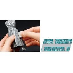 Sanding Sponge Sheet 3000 - Tamiya - TAM87171