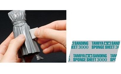 Tamiya Sanding Sponge Sheet 3000 - Tamiya - TAM87171