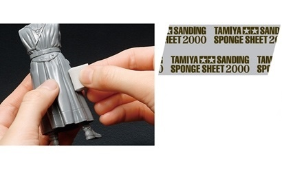 Tamiya Sanding Sponge Sheet 2000 - Tamiya - TAM87170