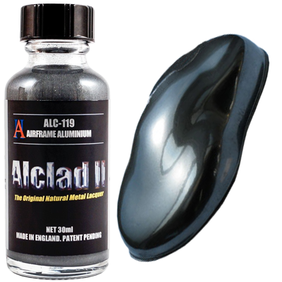 Alclad II Airframe Aluminium - 30ml - Alclad II - ALC119