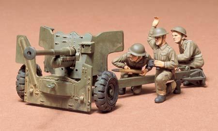 Tamiya British 6-Pound Gun - Scale 1/35 - Tamiya - TAM35005