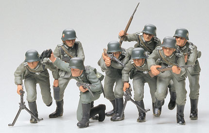 Tamiya German Assault Troops - Scale 1/35 - Tamiya - TAM35030