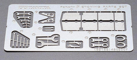 Tamiya Pz.Kpfw.Iv Photo Etched Parts Set **  - Scale 1/35 - Tamiya - TAM35183