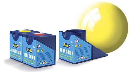 Revell Aqua Yellow Gloss - 18ml - Revell - RV36112