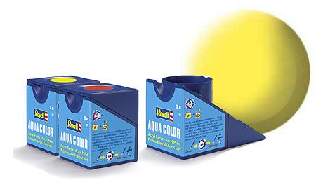 Revell Aqua Yellow Matt - 18ml - Revell - RV36115