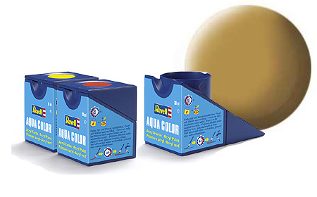 Revell Aqua Sandy Yellow Matt - 18ml - Revell - RV36116