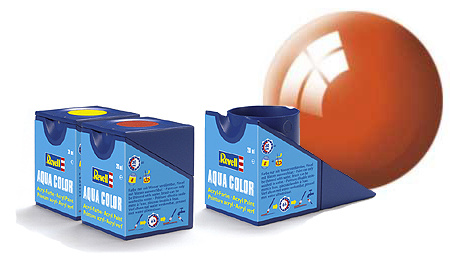 Revell Aqua Orange Gloss - 18ml - Revell - RV36130