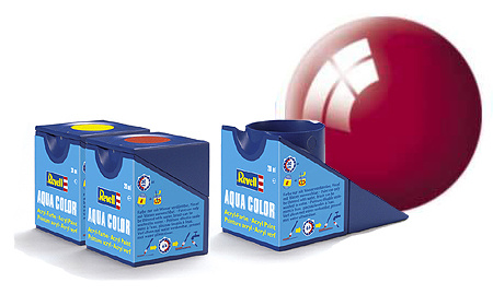 Revell Aqua Ferrari Red Gloss - 18ml - Revell - RV36134