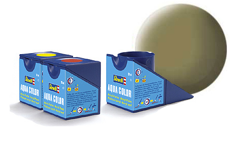 Revell Aqua Olive Yellow Matt - 18ml - Revell - RV36142