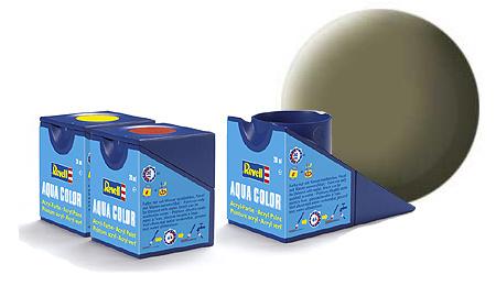 Revell Aqua Light Olive Matt - 18ml - Revell - RV36145