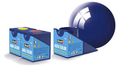Revell Aqua Ultramarine-Blue Gloss - 18ml - Revell - RV36151