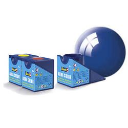 Aqua Blue Gloss - 18ml - Revell - RV36152