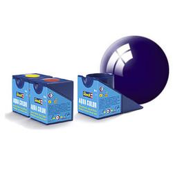 Aqua Night Blue Gloss - 18ml - Revell - RV36154