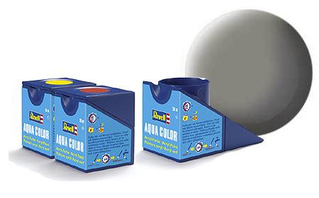 Revell Aqua Stone Grey Matt - 18ml - Revell - RV36175