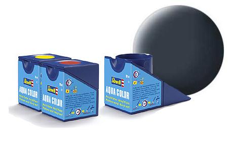 Revell Aqua Greyish Blue Matt - 18ml - Revell - RV36179