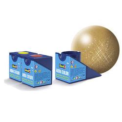Aqua Gold Metallic - 18ml - Revell - RV36194