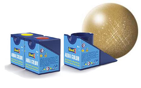 Revell Aqua Gold Metallic - 18ml - Revell - RV36194