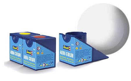 Revell Aqua White Silk - 18ml - Revell - RV36301