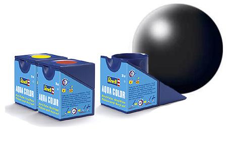 Revell Aqua Black Silk - 18ml - Revell - RV36302