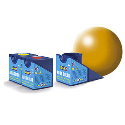 Aqua Yellow Silk - 18ml - Revell - RV36310