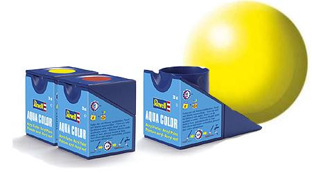 Revell Aqua Luminous Yellow Silk - 18ml - Revell - RV36312